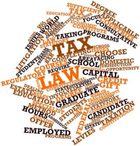 Abstract word cloud for Tax law with related tags and terms